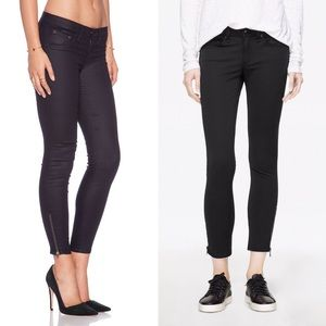 Ankle Zip Skinny Jeans by Rag and Bone x Intermix